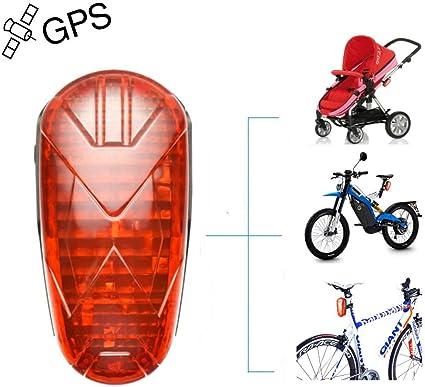 Rastreador Gps Bicicleta GPS Tracker Localizador GPS Bicicleta La Batería de Larga Duración en Tiempo Real Oculta El Rastreador de GPS de La Bicicleta Dispositivos de Seguimiento GPS con Cola LED: Amazon.es: