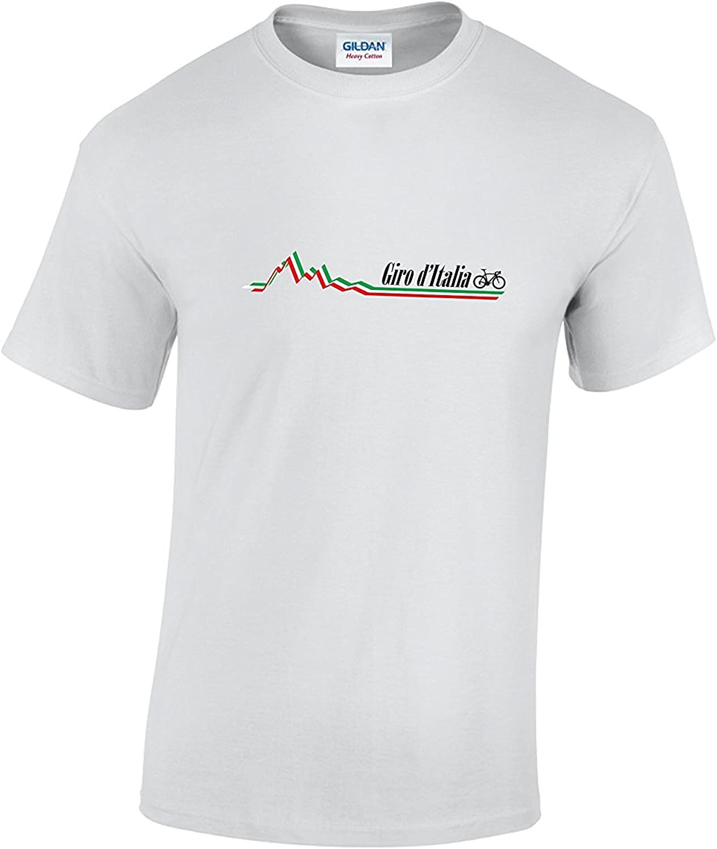 Rinsed Giro DItalia - Camiseta de ciclismo, diseño de rayas: Amazon.es: Ropa y accesorios