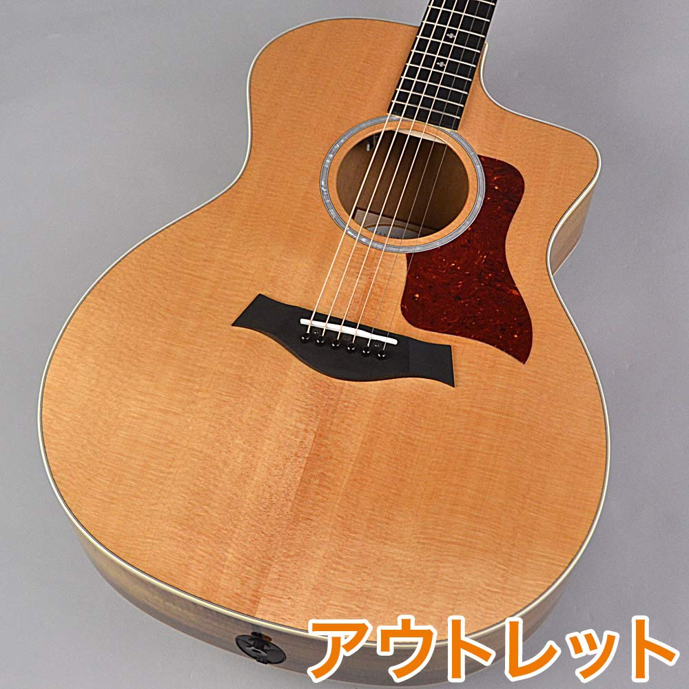 Taylor 214ce-K DLX Grand Auditorium エレクトリックアコースティックギター   B00P4U4S0O