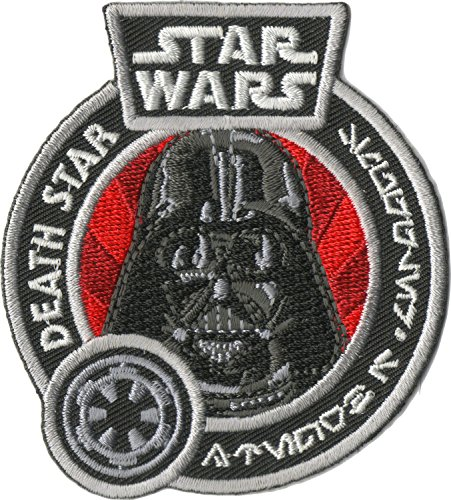 (Star Wars Smugglers Bounty Exclusive Embroidered Death Star Darth Vader)