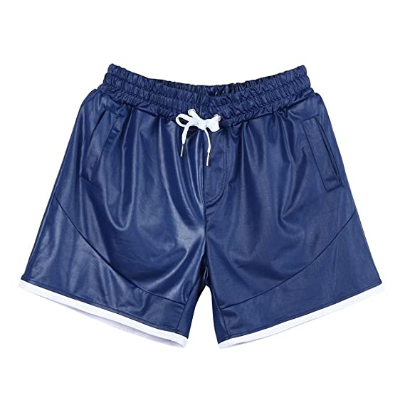 e38020e551 LAND-FOX Hombre Deporte Fitness Jogging Elástico Elástico Culturismo  Sweatpants,Pantalones Cortos Deportivos para
