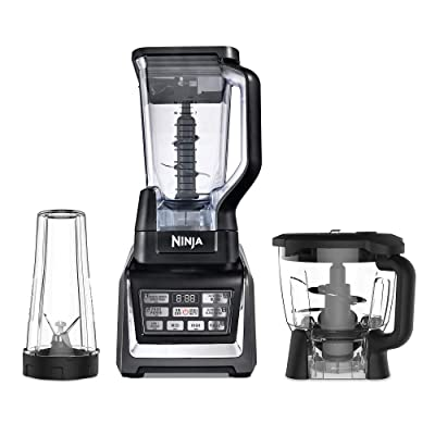 Buy Nutri Ninja Blender Kitchen System With Auto Iq And Powerful 1200 Watt Motor Base Xl 72oz Total Crushing Pitcher And 8 Cup Processor Bowl And One 16 Oz Cup With To Go Lid Bl910