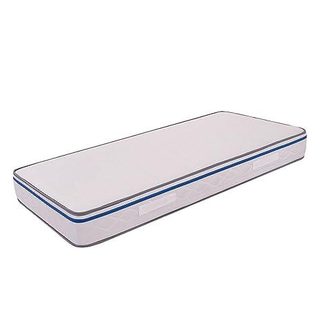 Ailime Easy H22 - Colchón para Cama, Ortopedico e antiacaro, Espuma con Memoria,