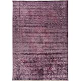 Home Dynamix and Nicole Miller   Artisan CAYA Area Rug   Unique Design, Transitional Style   Luxurious Viscose, Smooth Texture   Fade and Stain Resistant, Mauve, 8′ x 10 For Sale