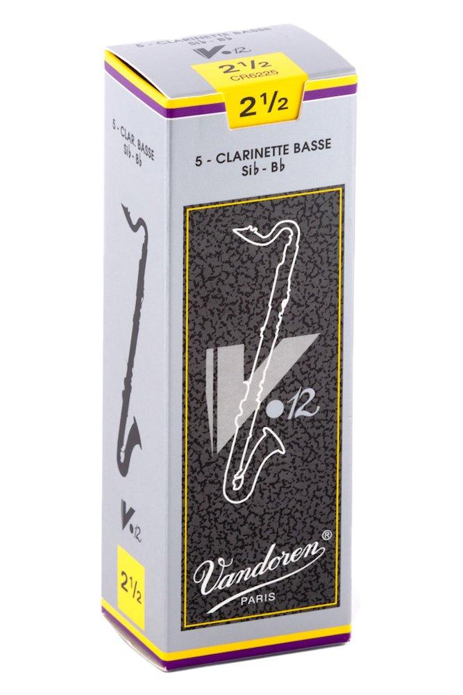 Vandoren CR6235 Ancia per Clarinetto Basso, Forza 3.5