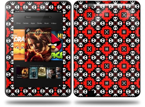 Goth Punk Skulls Decal Style Skin fits Amazon Kindle Fire HD 8.9 inch ()