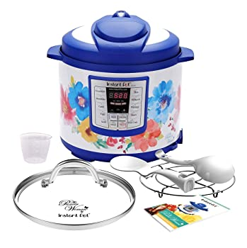 Instant Pot Pioneer Woman LUX60 Breezy Blossoms 6-in-1 cooker