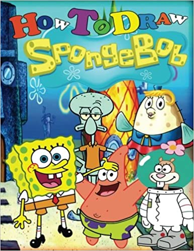 how to draw spongebob step by step drawing lessons for children