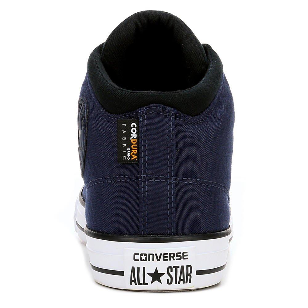 973049e62fe8 Converse Unisex Chuck Taylor All Star High Street Kurim Mid Sneaker  Midnight Navy Black 12 D(M) US  Amazon.de  Schuhe   Handtaschen