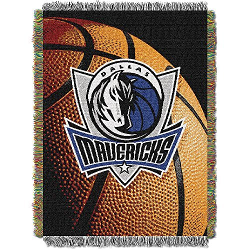 Northwest 051 Photo Real Dallas Mavericks NBA Woven Tapestry Throw Blanket (48x60)