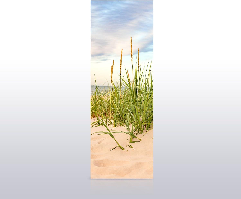 T/ürbild - Papier Tapete Wandbild M0927 B x H wandmotiv24 T/ürtapete Strand 70 x 200cm T/ür-Aufkleber