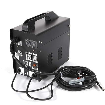 Yiiiby MIG soldaduras MIG130 electrodo electrodo profesional máquina ...