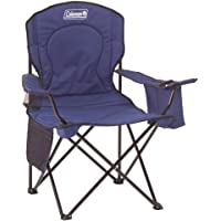 Coleman Camping Oversized Quad Chair with Cooler (Blue)