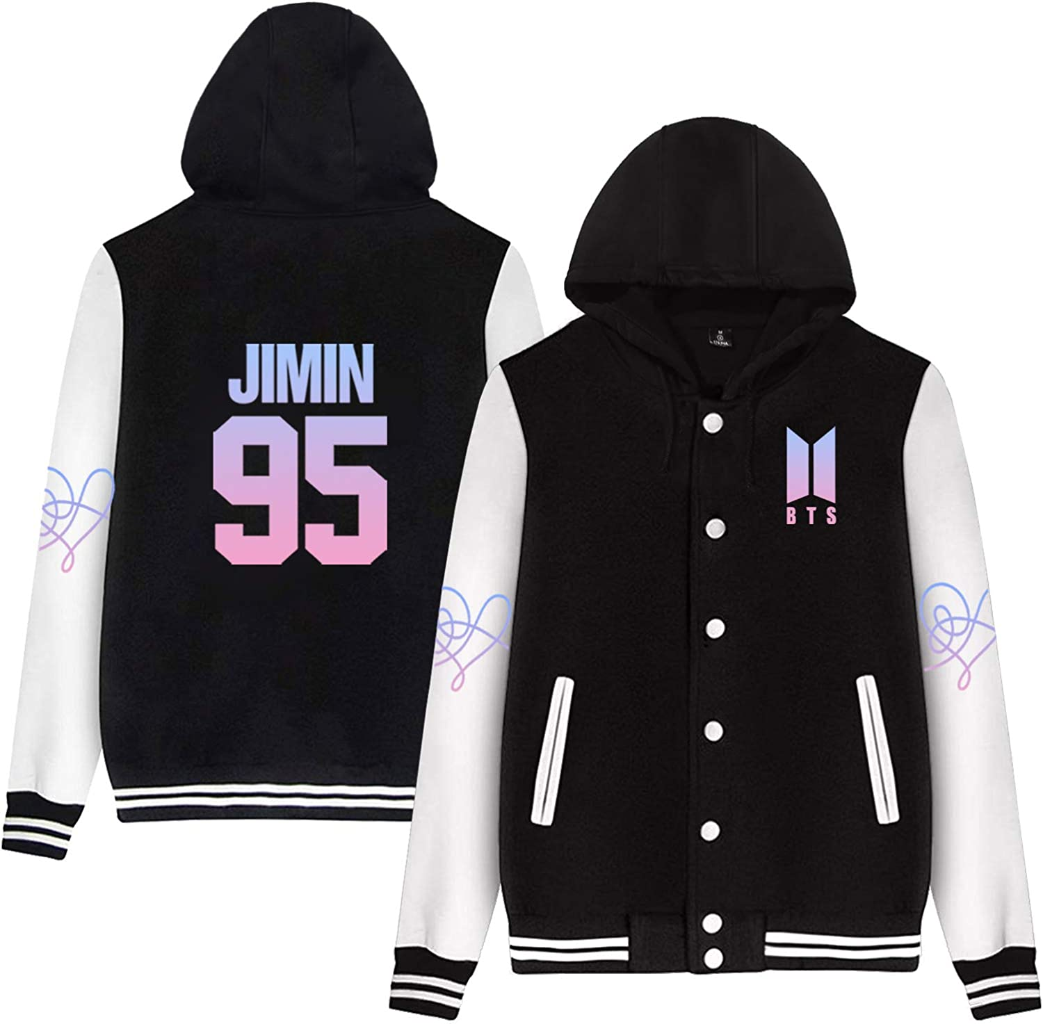 CHAIRAY BTS Love Yourself Answer Baseball Jersey Jimin Jungkook Suga V Sweater Hoodie