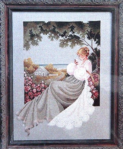 Lavender & Lace Nantucket Rose Cross Stitch Chart By Marilyn Leavitt Imblum L&l 20 ()