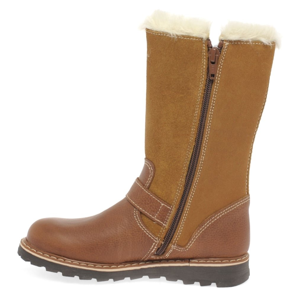 Kids at Clinks Girls Girls Lucca Tall Tan Boots