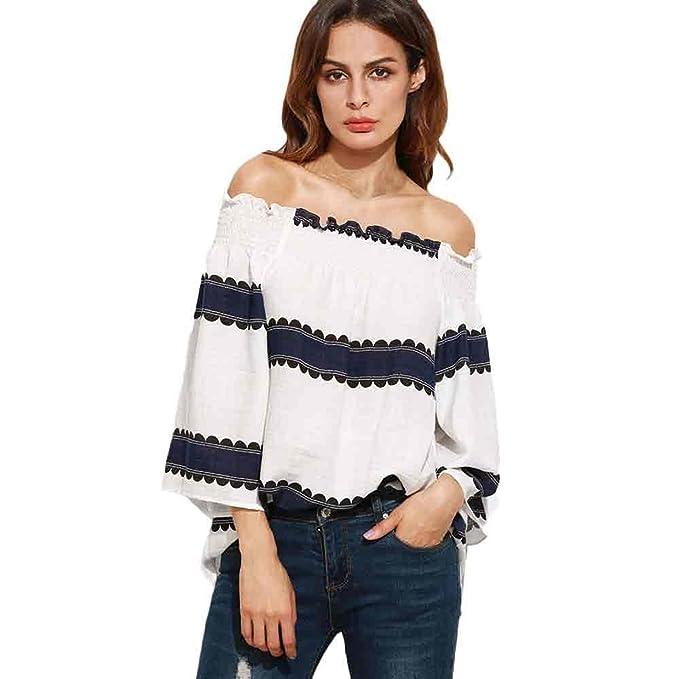 Camiseta Sin Mangas❤️EUZeo❤️Sujetador Sin Espalda Mujer Blusas de Mujer Elegantes de Fiesta