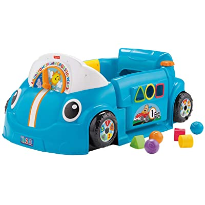 Fisher-Price Laugh & Learn Crawl Around Car: Toys & Games