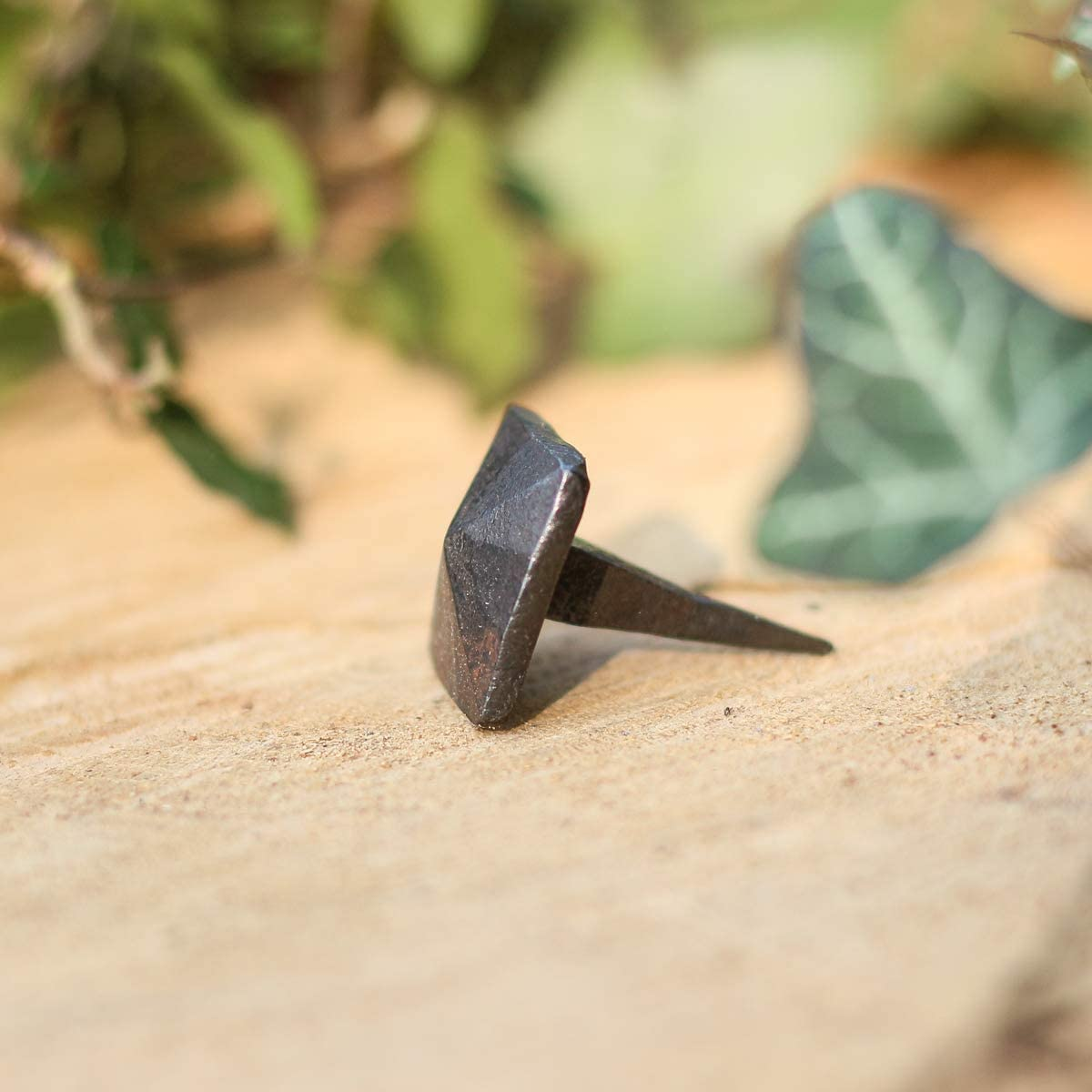 Antike N/ägel geschmiedet Nagel schmiedeeisen Nagel Antikas Ziernagel viereckig