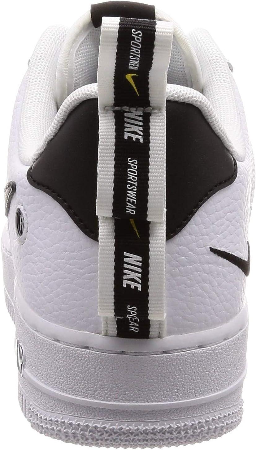 Radar Marco de referencia Dentro  Amazon.com | NIKE Men's Air Force 1 07 LV8 Utility, White/White-Black-Tour  Yellow, 10 M US | Basketball
