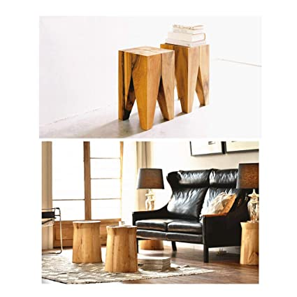 Marvelous Amazon Com Aijl Footstool Household All Solid Wood Change Squirreltailoven Fun Painted Chair Ideas Images Squirreltailovenorg
