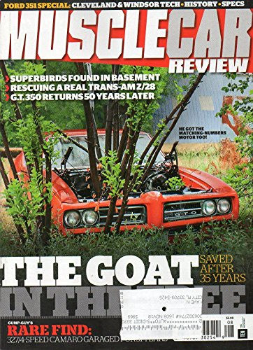 Muscle Car Review 2016 Magazine FORD 351 SPECIAL: CLEVELAND & WINDSOR TECH * HISTORY * SPECS