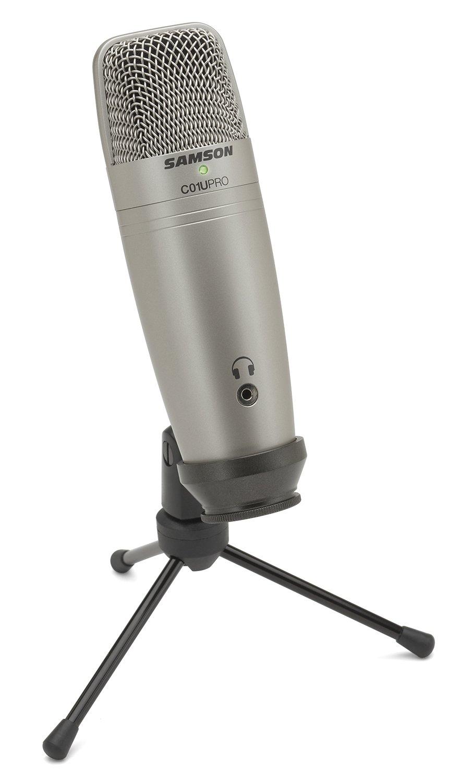 Samson C01U Pro USB Studio Condenser Microphone Samson Technologies SAC01UPRO
