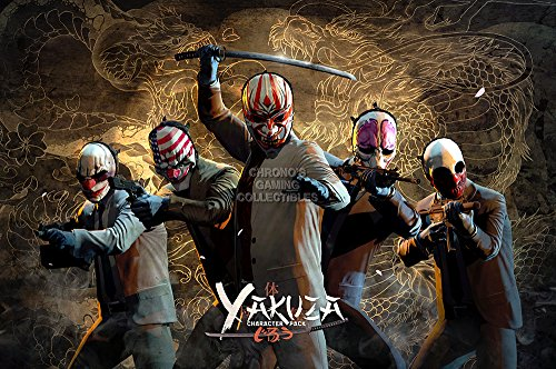 """Price comparison product image CGC Huge Poster - Payday 2 Yakuza Pack PS4 PS3 XBOX ONE 360 Nintendo Switch GLOSSY FINISH - OTH672 (16"""" x 24"""" (41cm x 61cm))"""