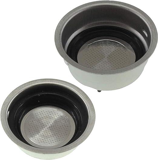 Spares2go - Filtro para cafetera Delonghi (pequeño, uno + dos ...