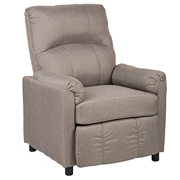 Merveilleux BestMassage Single Arm Recliner Chair Sofa Fabric Reclining Couch Accent  Chair