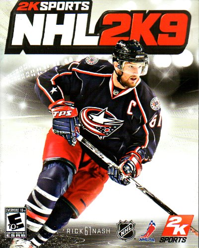 NHL 2K9 PS3 Instruction Booklet (Sony PlayStation 3 Manual ONLY - NO GAME) [Pamphlet ONLY - NO GAME INCLUDED] Play Station