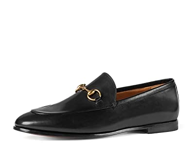 e612458bc56 Amazon.com  Gucci Men s Jordaan Horsebit Loafer