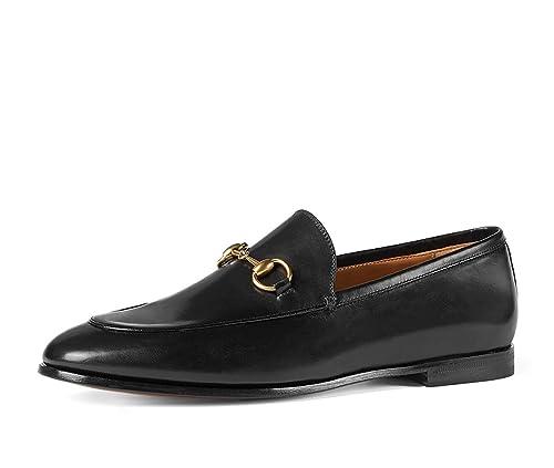 4266ae72288 Amazon.com  Gucci Men s Jordaan Horsebit Loafer