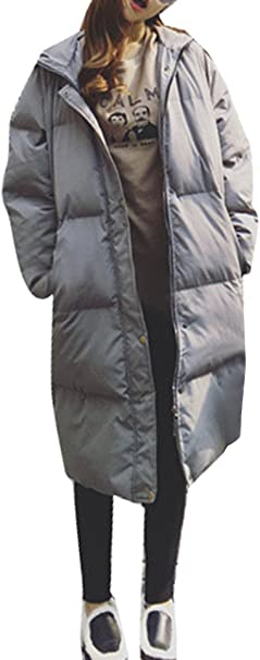 5 ALL Damen Frauen Kapuzenjacke Parka Winter Fleece Hoodie