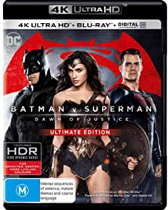 Batman v Superman Dawn of Justice 4K UHD / Blu-ray