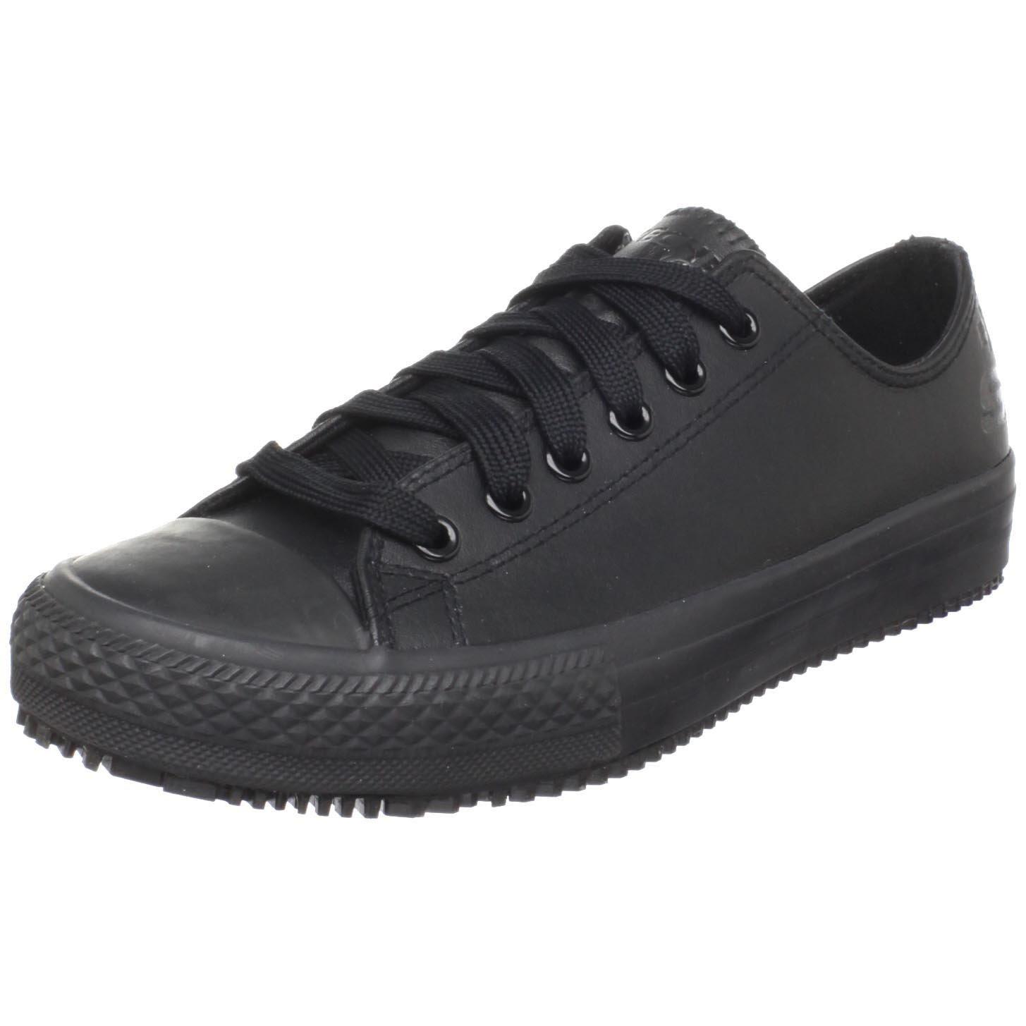 Skechers fAtilde;frac14;r Arbeit 76.453 Gibson-Hartholz Rutschhemmende Sneaker  36 EU|Black