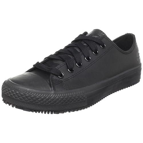 60170954 Skechers for Work Women's Gibson-Hardwood Slip-Resistant Sneaker,Black,5 M