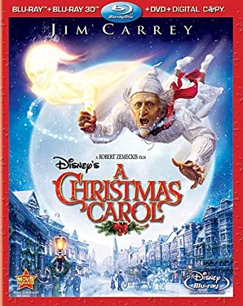 Jim Carrey Christmas Carol.Amazon Com Disney S A Christmas Carol Four Disc Combo Blu