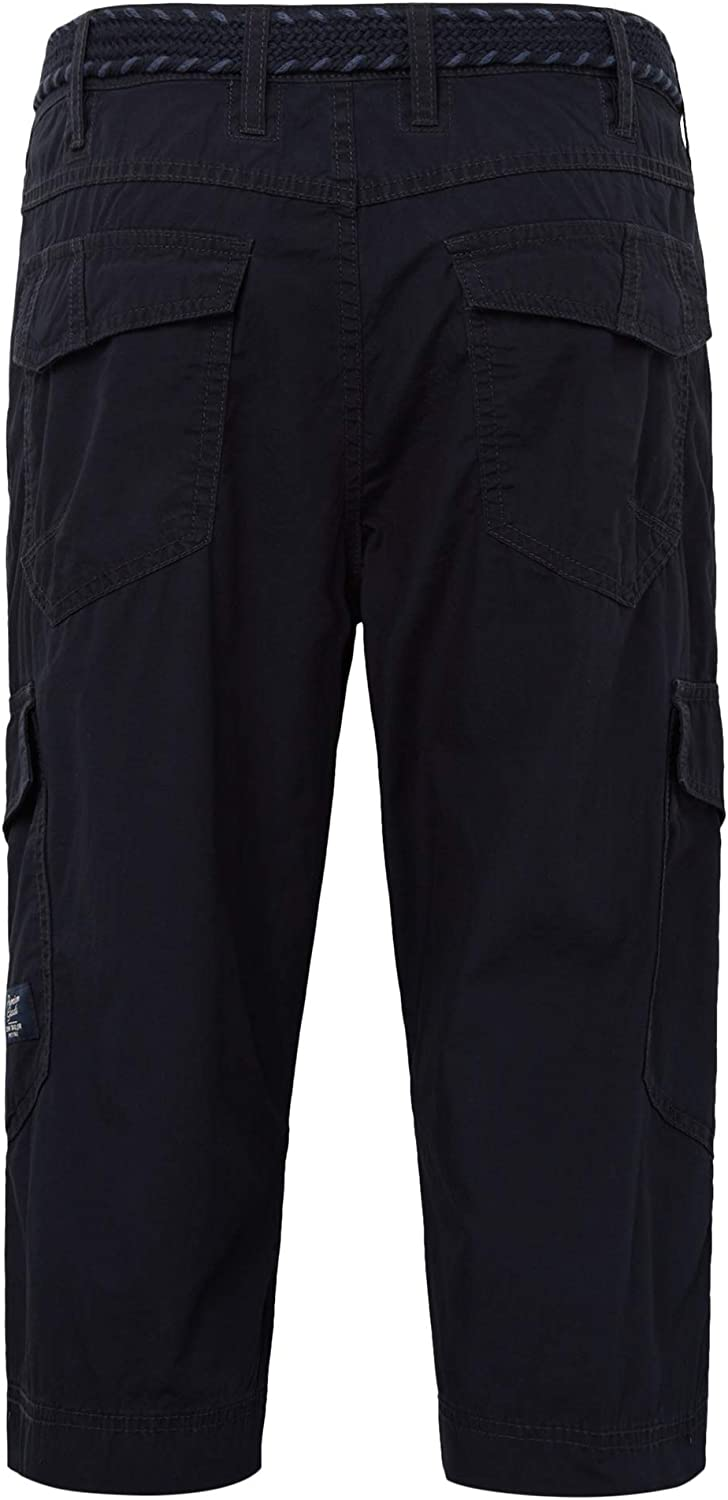 Tom Tailor Men's Morris Jeans Hose Shorts Blue (Lunar Eclipse 11019)
