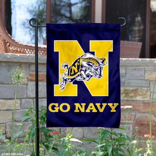 Navy Garden Flag and Yard Banner