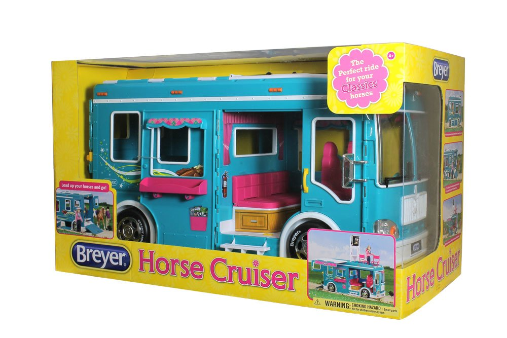 Breyer Classics Horse Cruiser Vehicle Teal (1: 12 Scale), 19'' x 8.5'' x 10.25'', Multicolor by Breyer (Image #5)