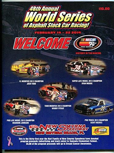 49th World Series of Asphalt Stock Car Racing Program 2014 New Smyrna (World Series Of Asphalt Stock Car Racing)