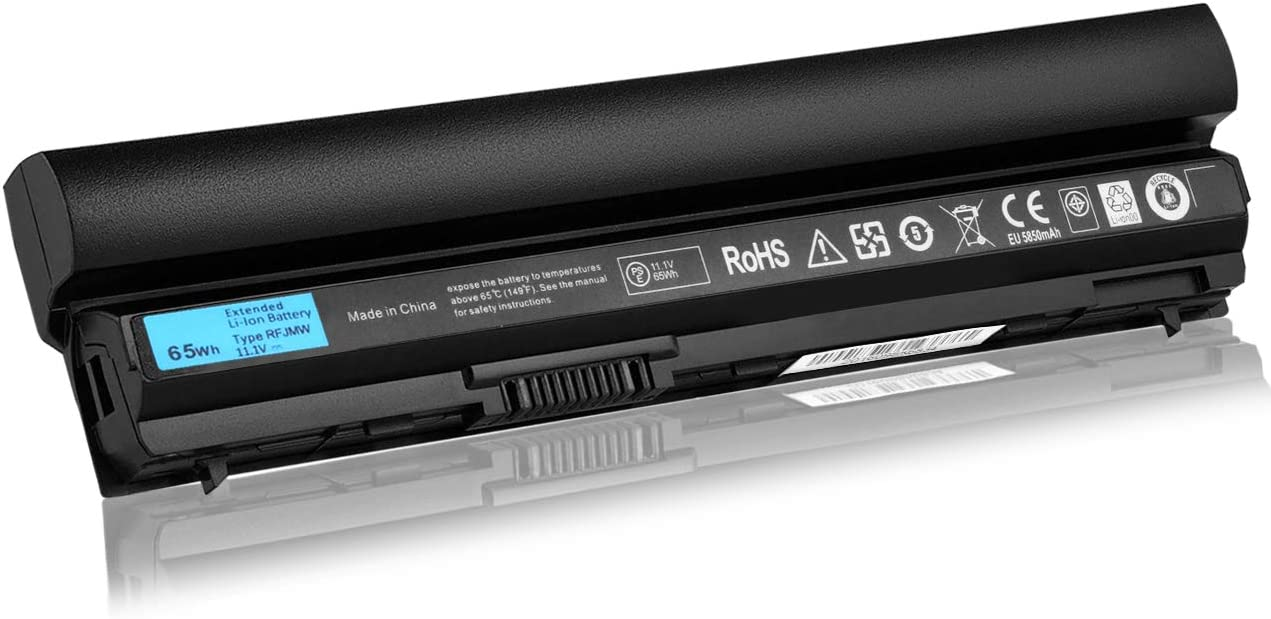 New E6230 E6330 65Wh Laptop Battery Compatible with Dell Latitude E6120 E6220 E6430s Series,fit RFJMW FRR0G UJ499 TPHRG J79X4 7FF1K Y61CV K4CP5 MHPKF 312-1239 312-1241 312-1381