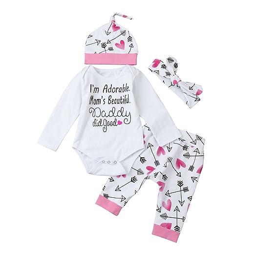 ef38cdef8 Amazon.com  OTINICE Baby Girls Boys Clothing Sets Short Sleeve ...