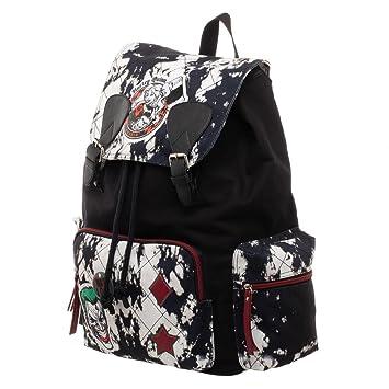 0698404bf7 Amazon.com | DC Harley Quinn Rucksack - Harley Quinn Bag | Drawstring Bags