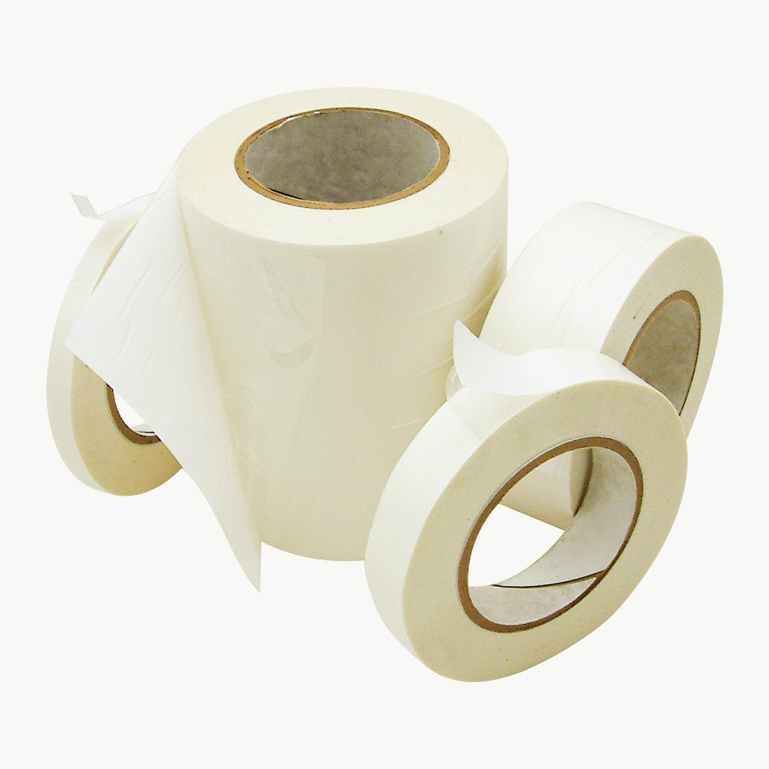 J.V. Converting DC-4016R/P/CLR0560 JVCC DC-4016R/P Double Coated Removable/Permanent Tape: 1/2 x 60 yd., Clear