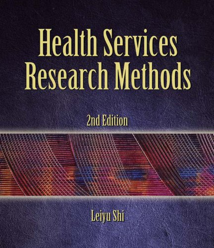 Health Services Research Methods Pdf