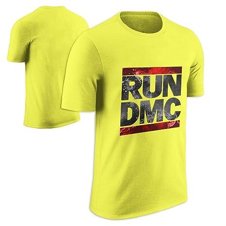 6a1e1bca9 Amazon.com: MERCH ARTIST Run DMC Classic Logo Adult T-Shirt: Clothing