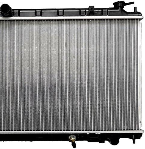 ECCPP Radiator 2414 fits for 2002 2003 2004 2005 2006 Nissan Altima Base//S//SL Sedan 4-Door 2.5L