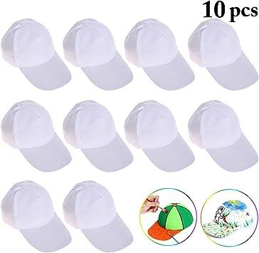 Gorras de Béisbol para Niños, Joyibay 10PCS Sombrero de Béisbol ...
